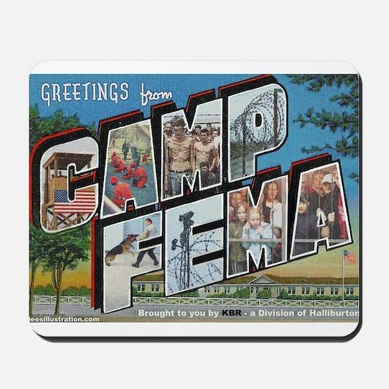 Camp FEMA Mousepad