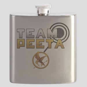 HungerGamesTeamPeeta Flask
