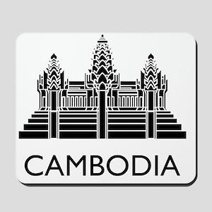 Cambodia4 Mousepad