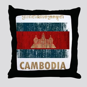 Cambodia6Bk Throw Pillow
