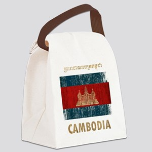 Cambodia6Bk Canvas Lunch Bag
