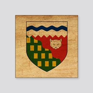 "Northwest Territoriestex3te Square Sticker 3"" x 3"""