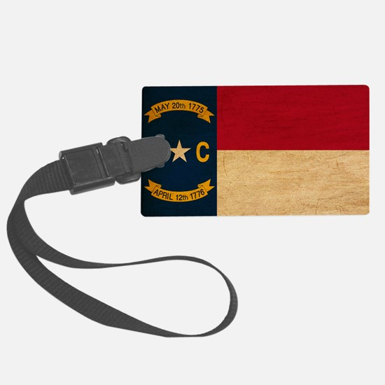 North Carolinatex3tex3-paint Luggage Tag