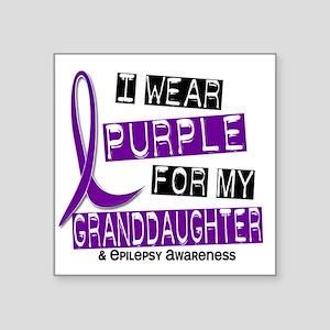 """Granddaughter Square Sticker 3"""" x 3"""""""