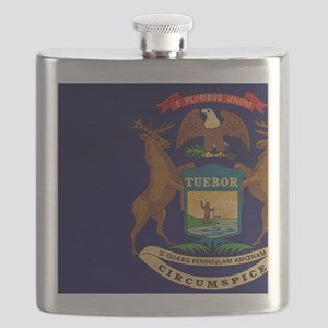 Michigantex3tex3-paint Flask