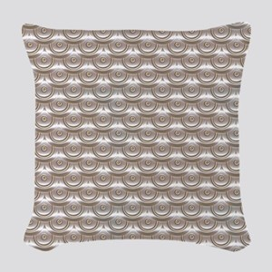 jewelledscales Woven Throw Pillow