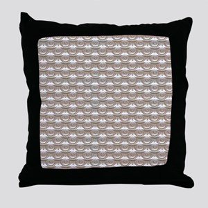 jewelledscales Throw Pillow