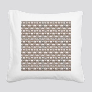 jewelledscales Square Canvas Pillow