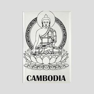 Cambodia8 Rectangle Magnet