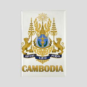 Cambodia9 Rectangle Magnet