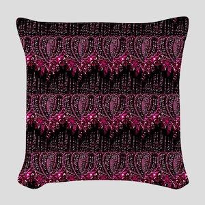 crimsonblingffs Woven Throw Pillow