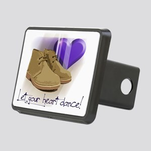 Let your heart dance polo Rectangular Hitch Cover