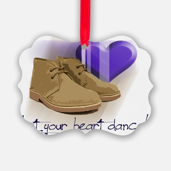 Let your heart dance polo Ornament