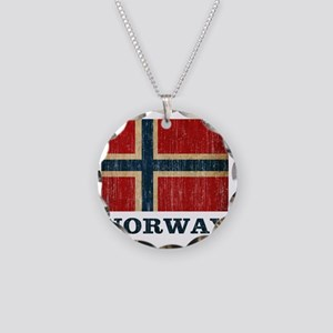 norway9 Necklace Circle Charm
