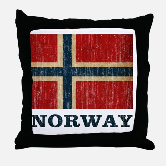 norway9 Throw Pillow