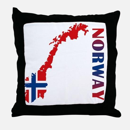 norway11 Throw Pillow