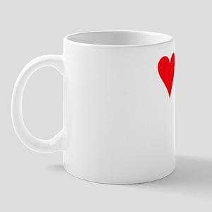 iheartirishdoodle_black Mug