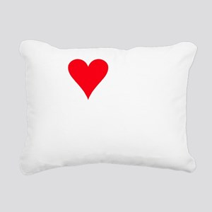I LOVE MY Foodle Rectangular Canvas Pillow