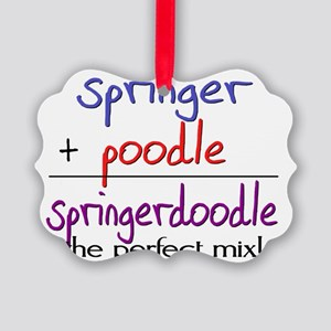 springerdoodle Picture Ornament