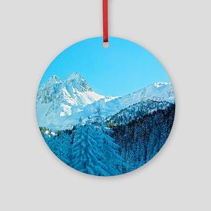Switzerland Round Ornament