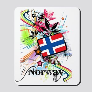 flowerNorway1 Mousepad