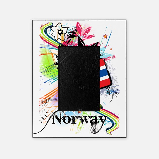 flowerNorway1 Picture Frame