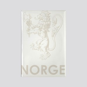 Norge1Bk Rectangle Magnet