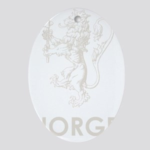 Norge1Bk Oval Ornament