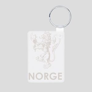 Norge1Bk Aluminum Photo Keychain