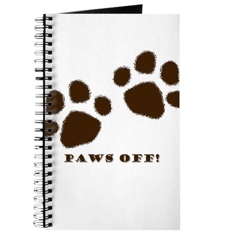 Paws Off! Journal