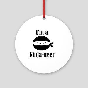 ninjaneer Round Ornament