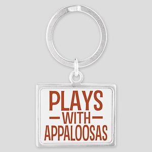 playsappaloosas Landscape Keychain