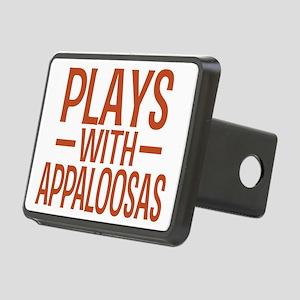 playsappaloosas Rectangular Hitch Cover