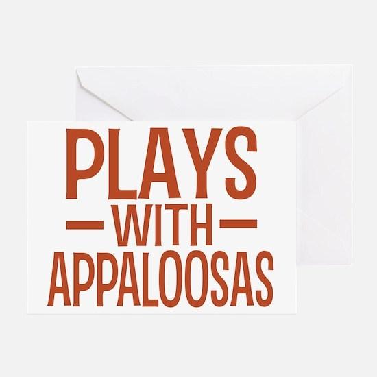 playsappaloosas Greeting Card
