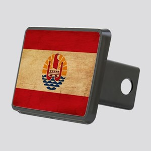 French Polynesiatex3tex3-p Rectangular Hitch Cover