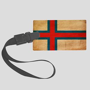 Faroe Islandstex3tex3-paint Large Luggage Tag