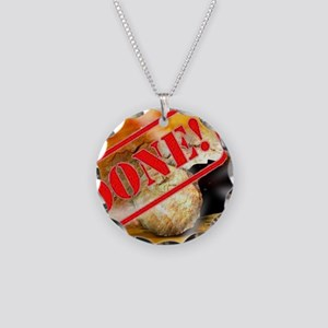 Done the empty tomb Necklace Circle Charm