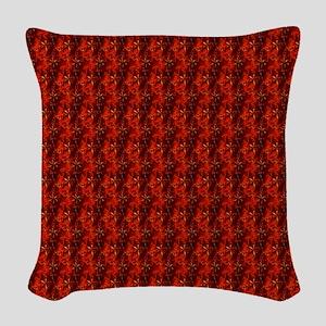 redvelvetjewelsflipflops Woven Throw Pillow