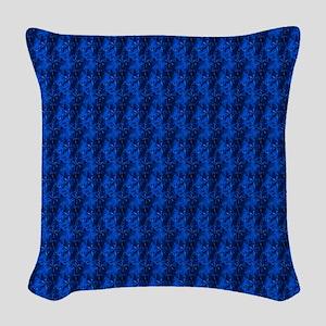 bluevelvetjewelsflipflops Woven Throw Pillow