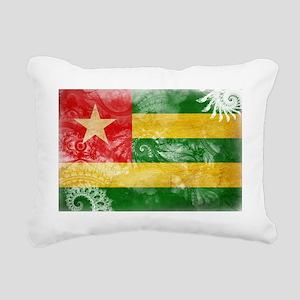 Togo textured Crazeh Pai Rectangular Canvas Pillow