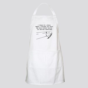Chicken Motives Questioned Apron