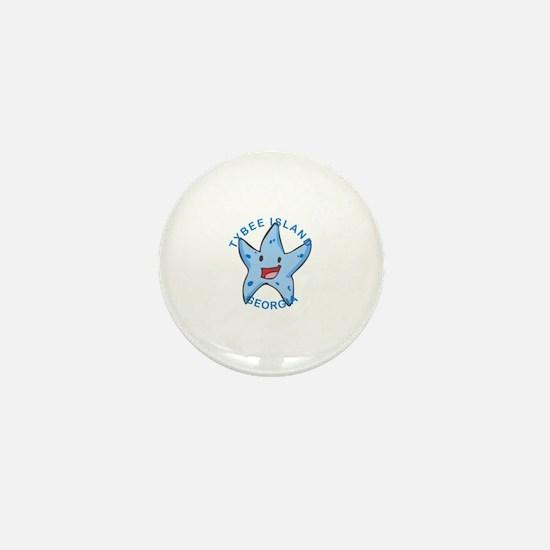 Unique Tybee island Mini Button