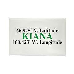 Kiana Latitude Rectangle Magnet (100 pack)