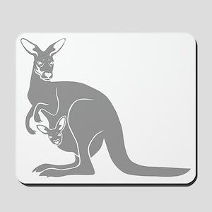 känguru kangaroo australien australia au Mousepad