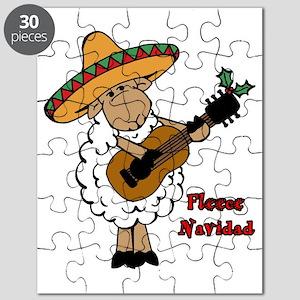 Fleece Navidad Puzzle
