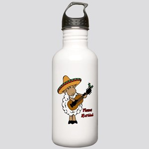 Fleece Navidad Water Bottle