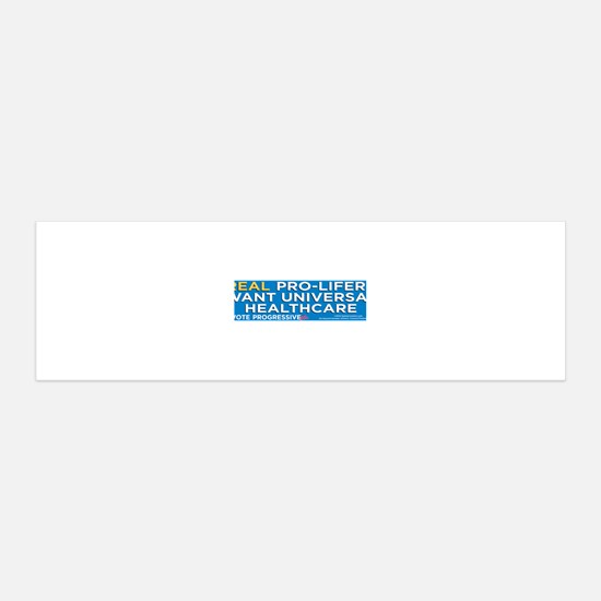 RealProLifersWantHealthcare Decal Wall Sticker
