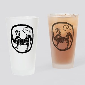 ModifiedShotokanTiger Drinking Glass