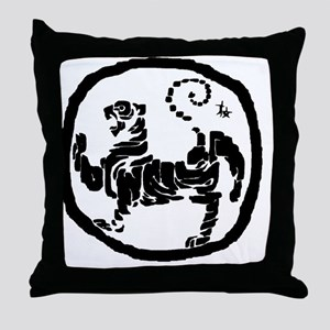 ModifiedShotokanTiger Throw Pillow