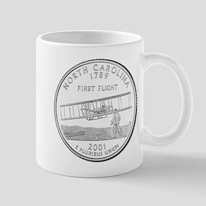 North Carolina State Quarter Mugs